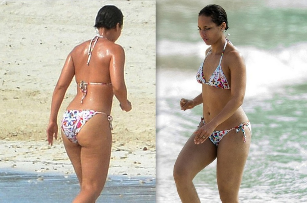 Gallery Alicia Keys Bikini 2013