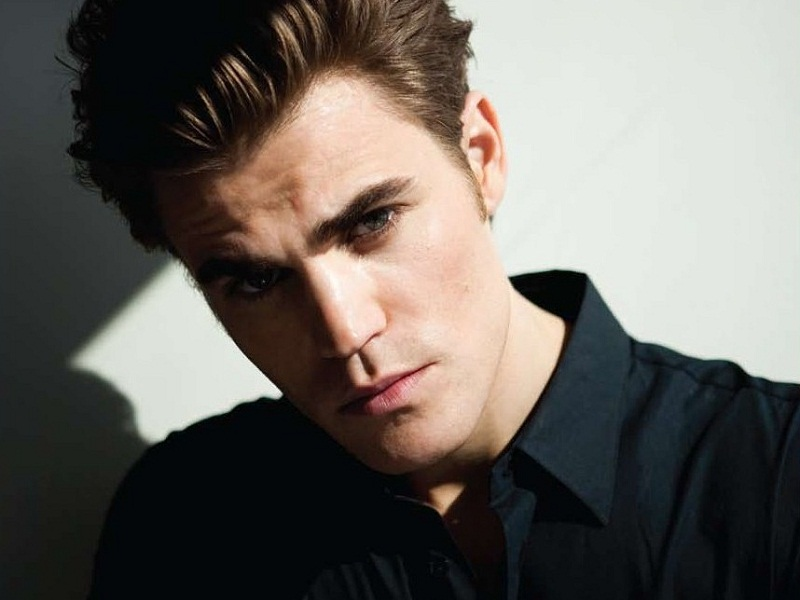 Paul Wesley stands 5 f...